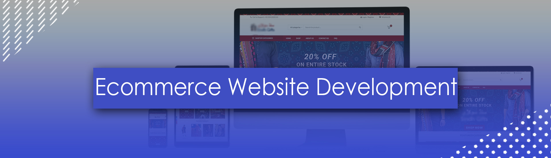 E-Commerce Website Development Services Company in  Pakistan