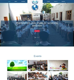 Web Design and CMS Web Portal Development of Educational Institute